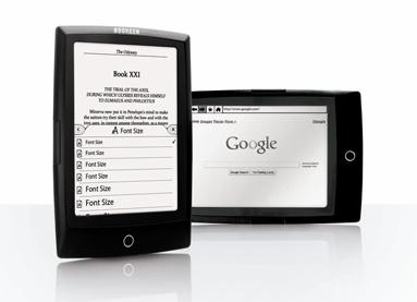 Navigueur sur Internet avec Cybook Odyssey