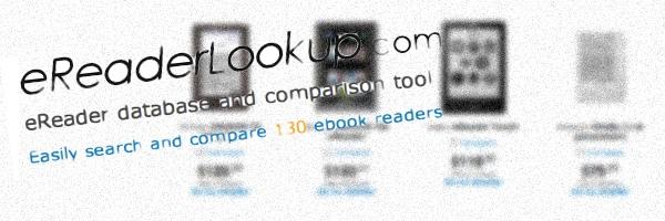 Moteur de recherche de liseuses numériques