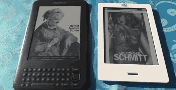 Comparaison des liseuses Kobo et Kindle
