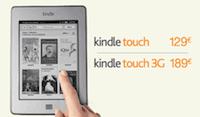 Kindle Touch en France