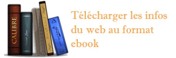 Télécharger les sites au format livre numérique