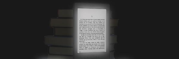 Un écran éclairé du dessus pour le Kindle