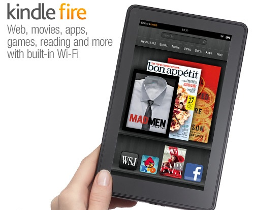 Kindle Fire de Amazon