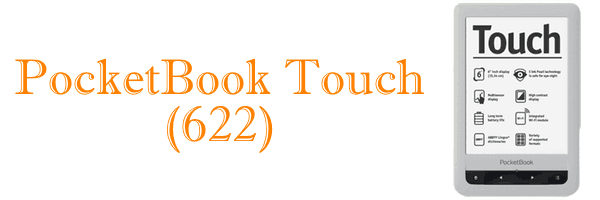 Le PocketBook Touch 622