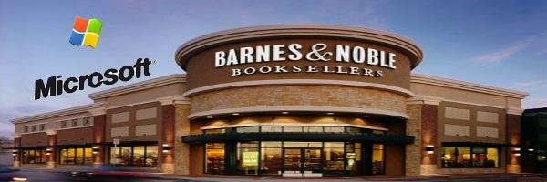 300 millions pour Barnes & Noble de la part de Microsoft