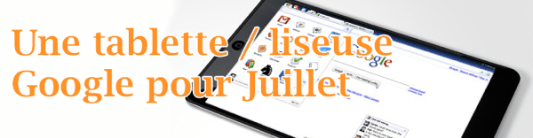 Tablette Google avec Android
