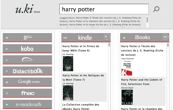 u.ki : harry potter en ebook