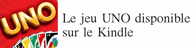 UNO sur Kindle
