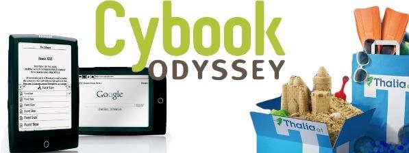 Cybook Odyssey de chez Bookeen en Allemagne
