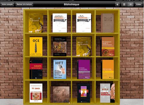 Nu-book sur iPad