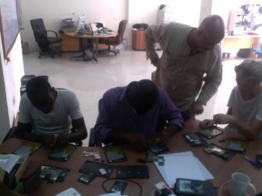 Réparation de Kindle au Ghana