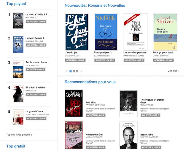 Livres et ebooks sur Google Play