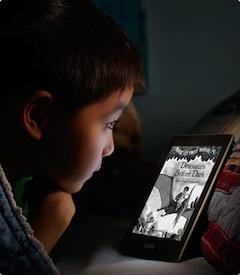 Lire avec le Kindle Paperwhite