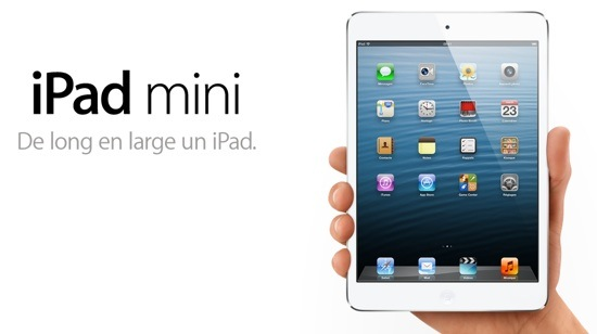 l'iPad Mini chez Apple