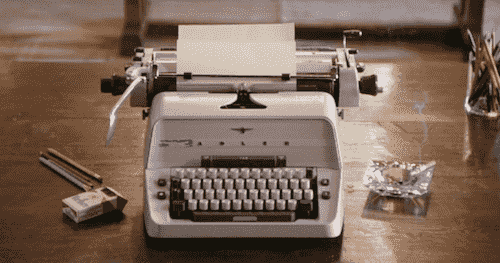 machine à écrire stanley kubrick