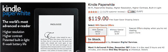 paperwhite amazon us