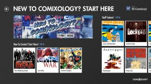 comiXology sur windows8