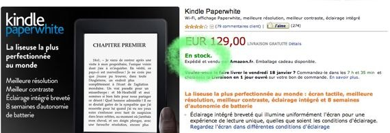 paperwhite stock amazon