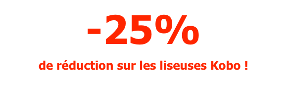 reductions soldes kobo