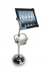 support ipad papier toilette