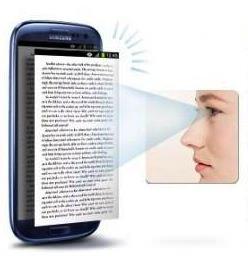 eye scroll une technologie samsung pour tourner les pages automatiquement