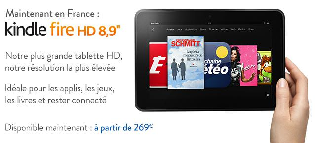 La tablette 8 pouces d'Amazon