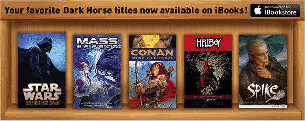 Dark Horse Comics iPad tablette