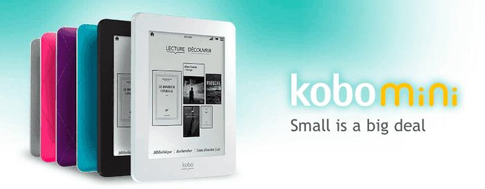 Promotion sur la Kobo Mini