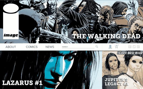 Image Comics site Internet