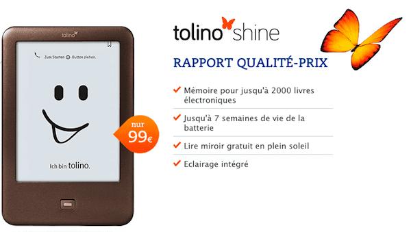 tolino shine 99 euros