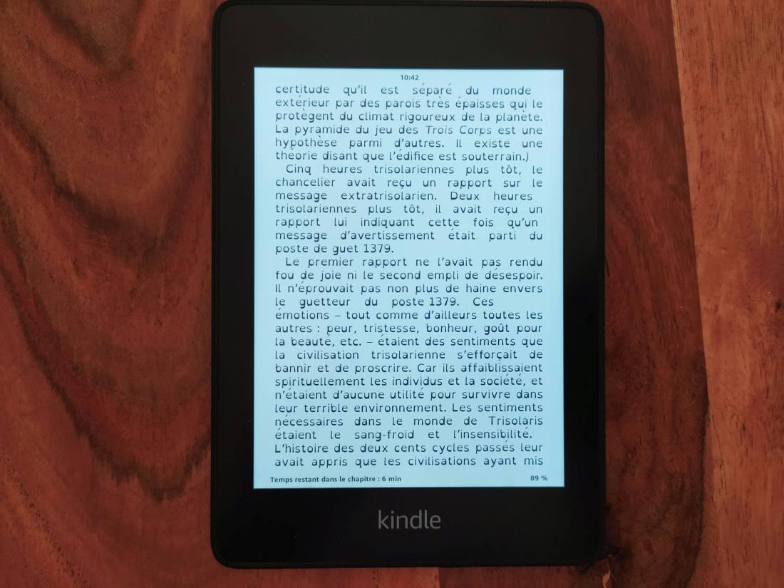 Kindle Paperwhite opendyslexic