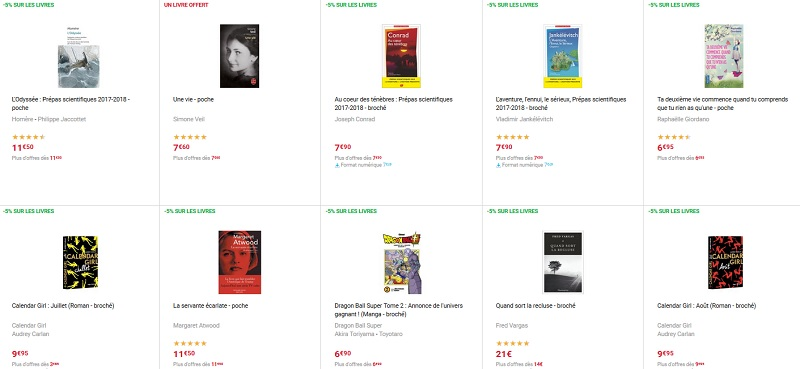 meilleures ventes livres fnac