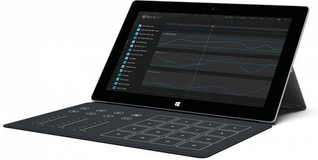 surface 2 tablette avec clavier