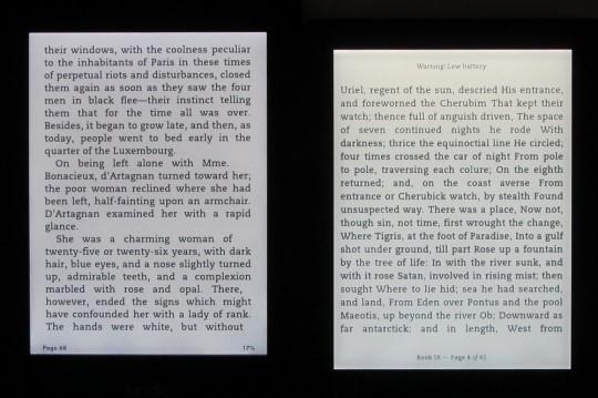 Kindle-Paperwhite-2-vs-Kobo-Aura-eclairage-lumiere