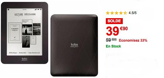 kobo mini 39 euros