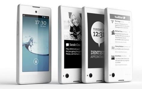 Yota Phone Blanc