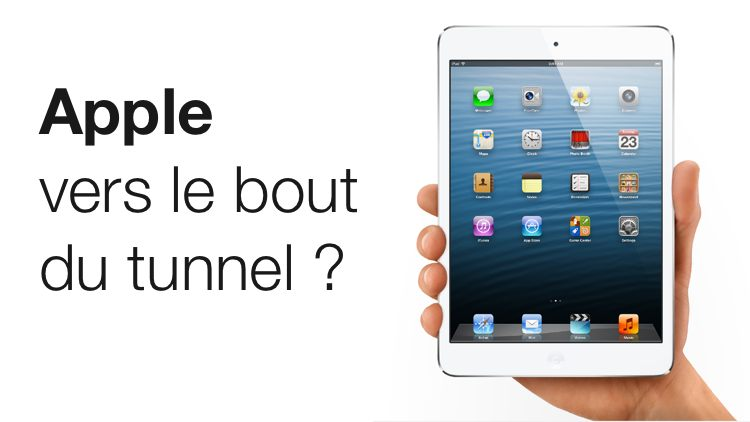 apple bout du tunnel