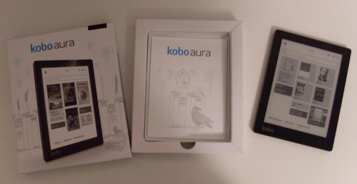 kobo aura packaging