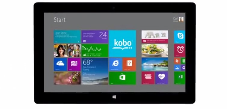 kobo windows 8
