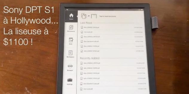 Sony digital paper usa