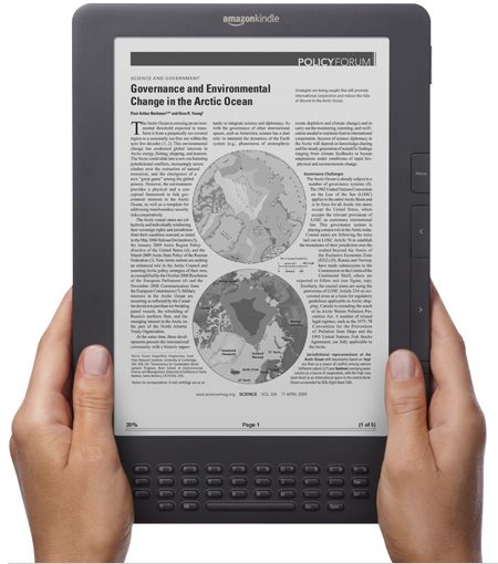 Kindle DX sorti en juin 2009 : un possible renouvellement en 2014 ?