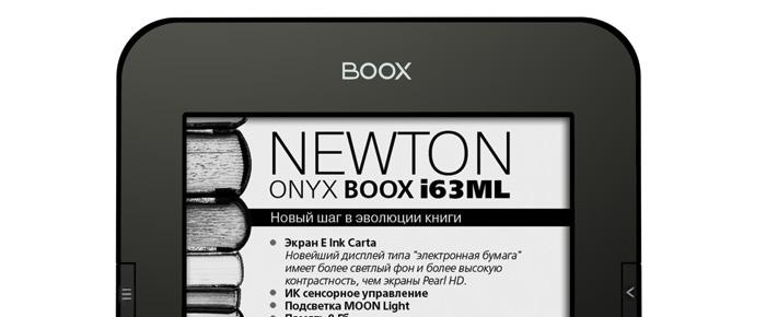 newton onyx liseuse android