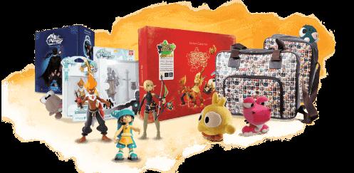 Des jouets dérivés des personnages d'Ankama.