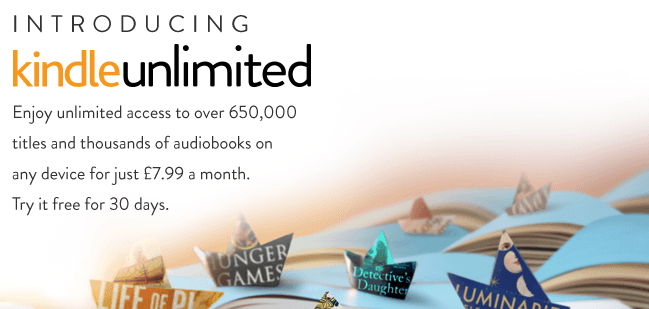 kindle unlimited uk
