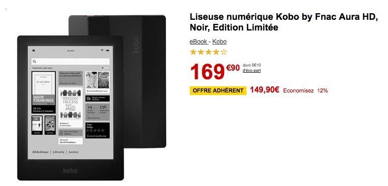 bon-plan-kobo-aura-hd-149-euros