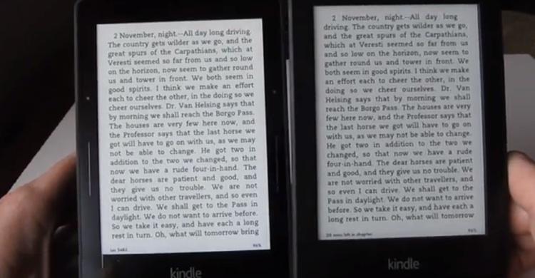 kindle-Voyage-contre-Kindle-Paperwhite