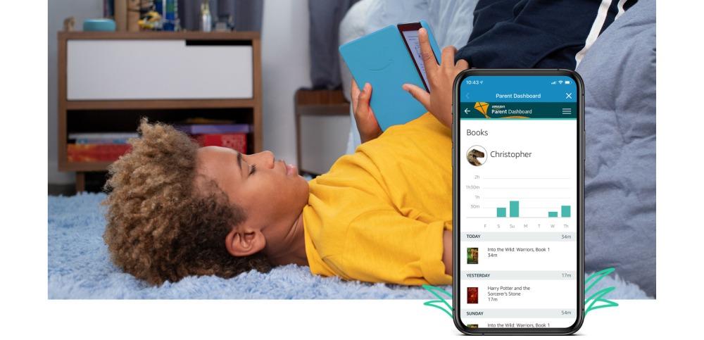 Application smartphone kindle kids