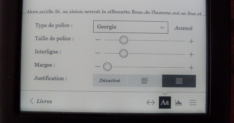 Kobo-Glo-HD-option-polices