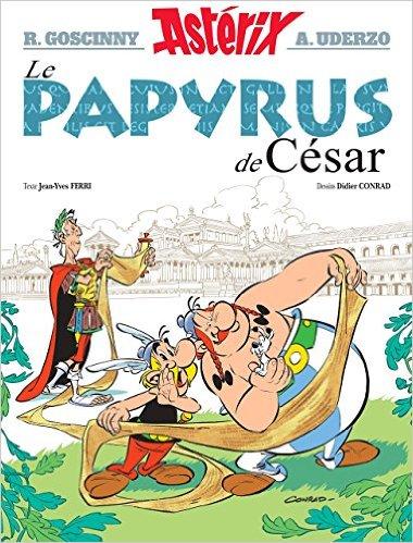 La papyrus de César meilleure vente 2015