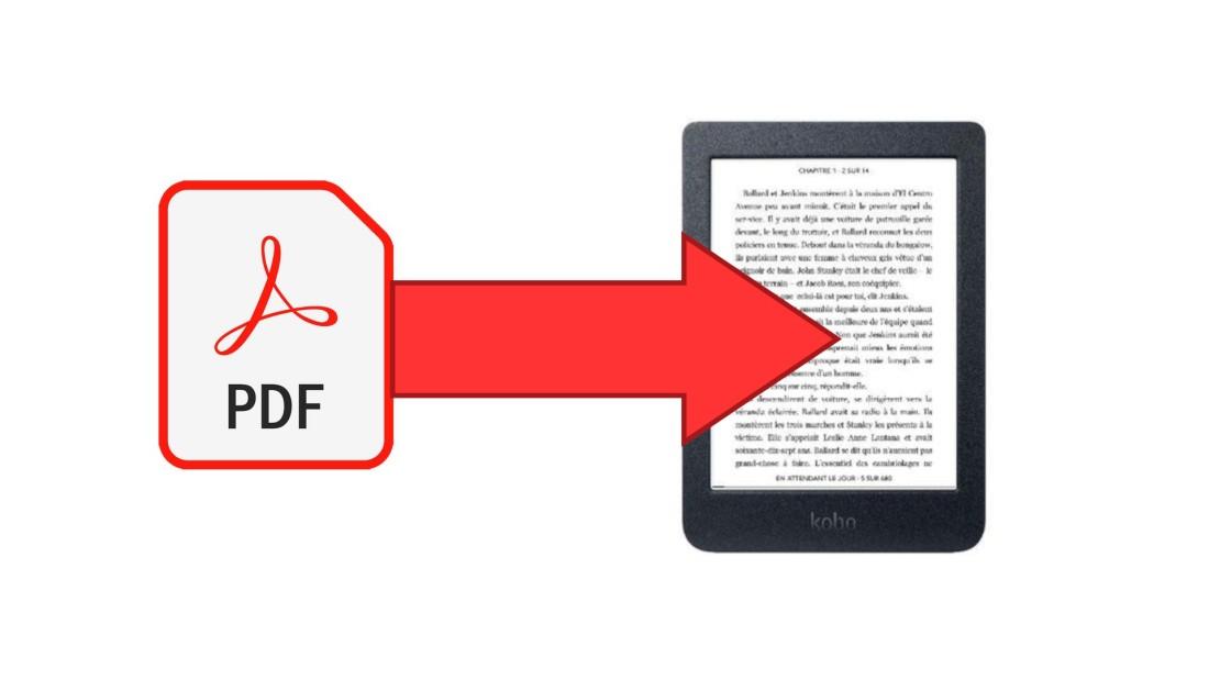 lire pdf liseuse kobo